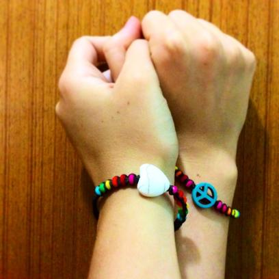 THAILAND: It's all about the Peace and Love! Bought these at the Phuket Night Market - bargain!