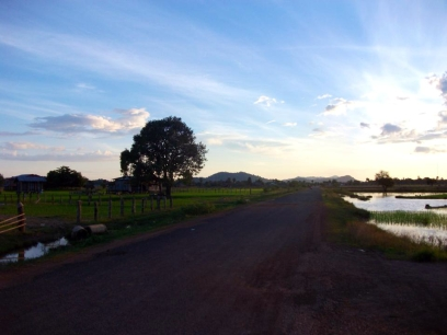 LAOS: The serene island of Don Det. Great for a quiet wander.