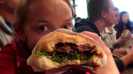 NEW ZEALAND: A Queenstown Fergburger - a MUST EAT! We ate 6 in 8 days. Disgustingly amazing.