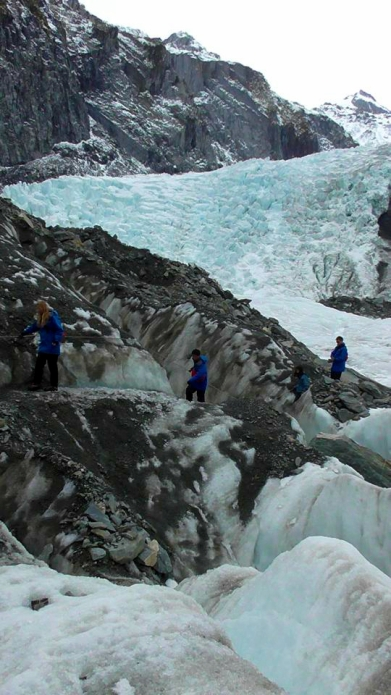 NEW ZEALAND: Franz Josef Glacier. Loved getting our crampons on in this chill playground!