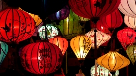 VIETNAM: Lanterns are everywhere in Hoi An, of every colour and design imaginable.