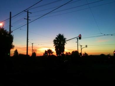 AUSTRALIA: City sunset in Brunswick, Melbourne. Cuz we're cool like that.