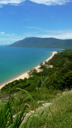 AUSTRALIA: View of our road trip up to Port Douglas at Rex lookout point. We felt like we were in a car commercial with the winding roads and a view like this!