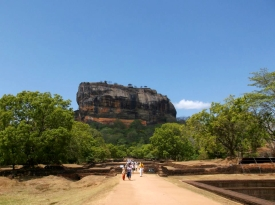 SRI LANKA: Sigiriya Rock Fortress. An amazing climb to the top. Just don't do it in the heat of the day like us morons did.