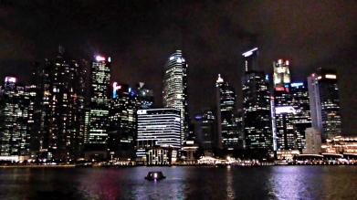 SINGAPORE: Skyline at night - our favourite way to see Singapore.