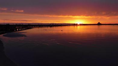 AUSTRALIA: Our absolute favourite sunset in St. Kilda, Melbourne. This one takes some beating.