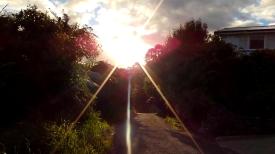 NEW ZEALAND: Sun over Stewart Island. Permanent population = 381 people. It's pretty quiet.