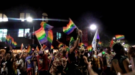 AUSTRALIA: 2015 Mardi Gras Parade in Sydney. Amazing atmosphere. Good to see so much support for the LGBT community here!